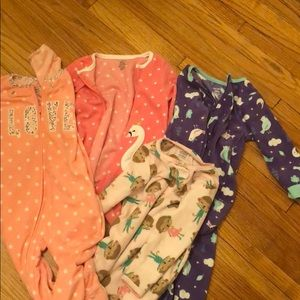 Other - Bundle of fleece pajamas